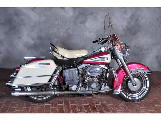 1970 Harley-Davidson FL Frame no. 2A18419H0