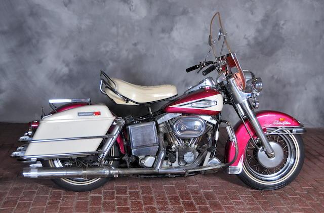 1970 Harley-Davidson FL Engine no. 2A18419H0