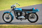 With rare boat-tail option and long-distance gas tank,1971 Harley-Davidson XLH Engine no. 3A12976H1