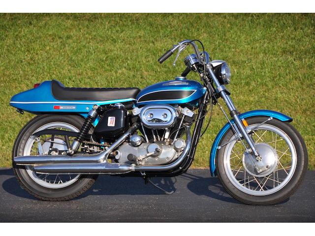 1971 Harley-Davidson XLH Frame no. 3A12976H1