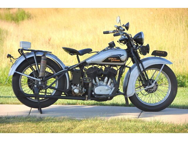 1933 Harley-Davidson VLE Frame no. 33VLE3325