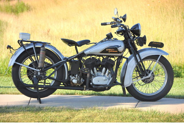 "From the 1987 film ""The Untouchables"",1933 Harley-Davidson VLE Engine no. 33VLE3325"