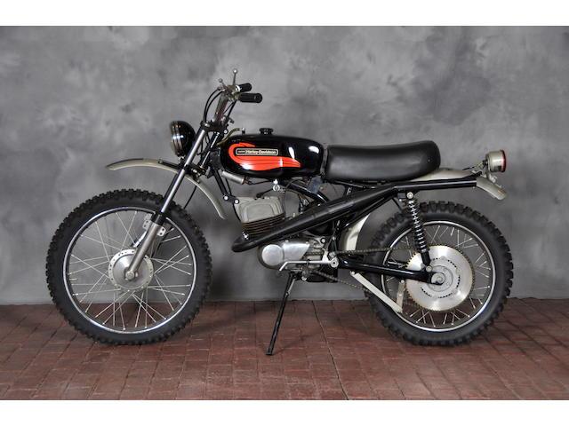 1972 Harley-Davidson Baja Frame no. 6C10273H2