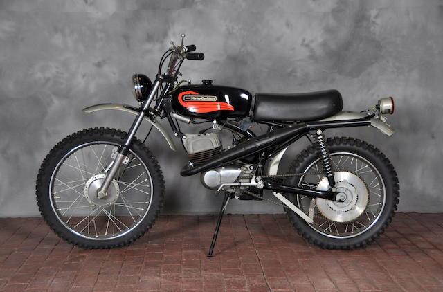 1972 Harley-Davidson Baja Engine no. 6C10273H2