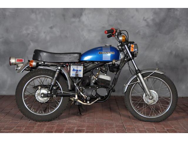 1973 Harley-Davidson 90cc Frame no. 3D15716H3