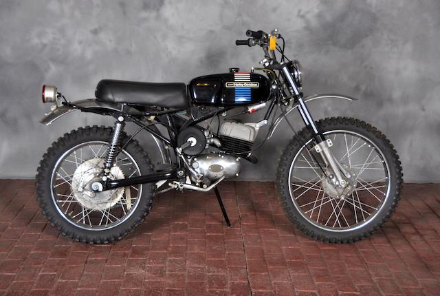 1973 Harley-Davidson Baja 100 Engine no. 6C10566H3
