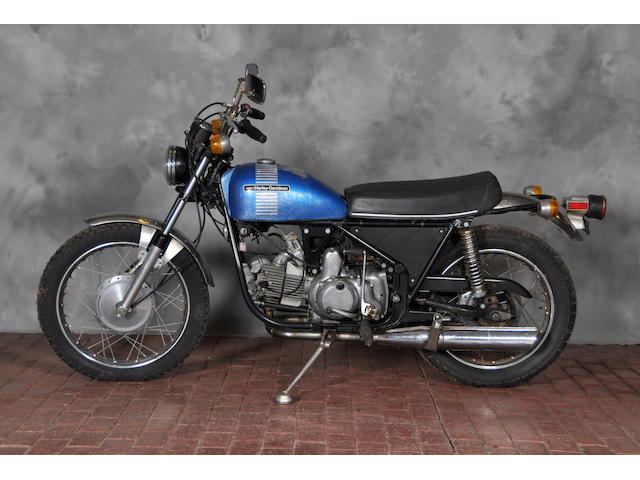 1973 Harley-Davidson SS Frame no. 6A12347H3