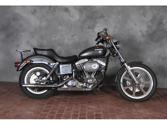 1974 Harley-Davidson SuperGlide Frame no. 9D33594H4