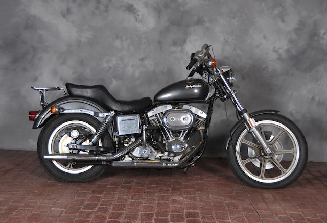 1974 Harley-Davidson SuperGlide Engine no. 9D33594H4
