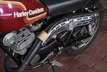 1975 Harley-Davidson SX125 Engine no. 3F10956H5