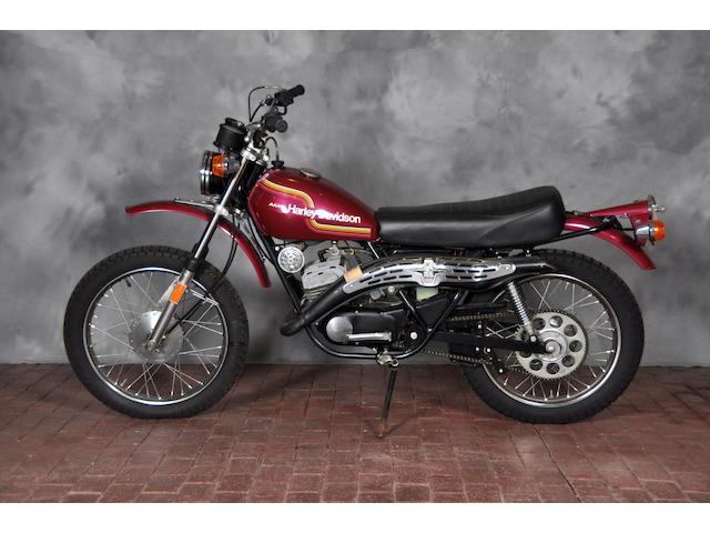 1975 Harley-Davidson SX125 Frame no. 3F10956H5,1975 Harley-Davidson SX125 Frame no. 3F10956H5