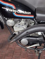 1975 Harley-Davidson SX125 Engine no. 3F10969H5