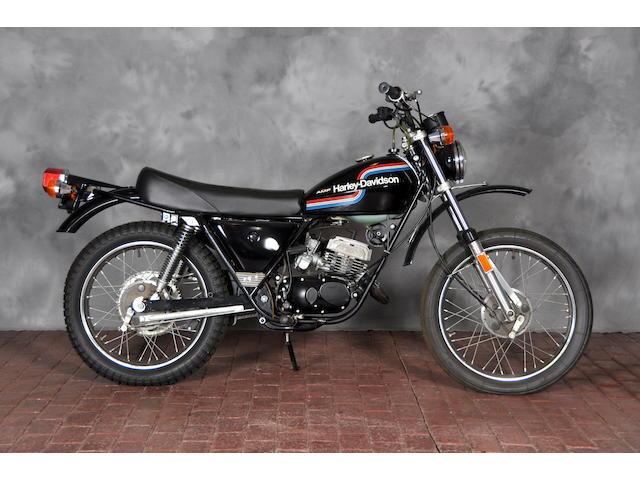 1975 Harley-Davidson SX125 Frame no. 3F10969H5