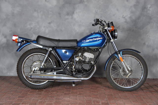 1978 Harley-Davidson SS125 Engine no. 3F10244H8