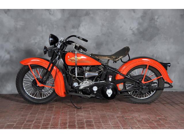 1934 Harley-Davidson VLD Frame no. 34VLD1455
