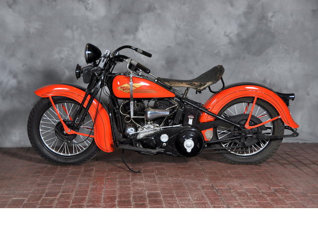 1934 Harley-Davidson VLD Engine no. 34VLD1455
