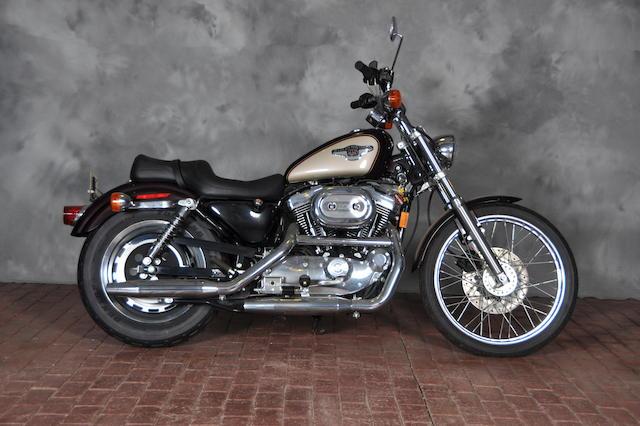 1998 Harley-Davidson XL1200 Frame no. 1HD1CGP43WY200778