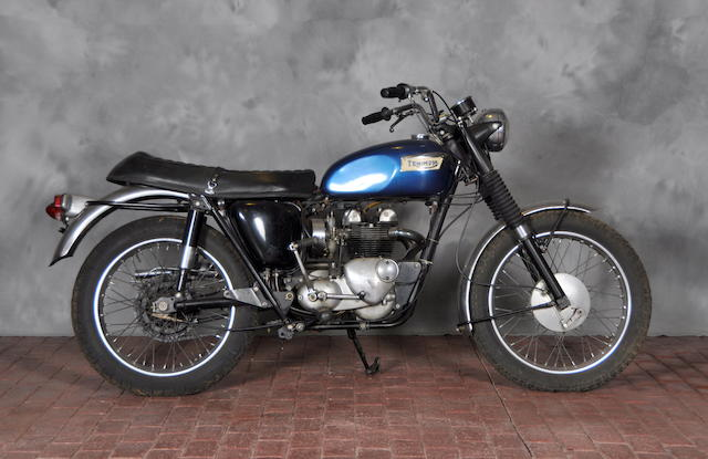 1966 Triumph T100C Frame no. T100CH51079 Engine no. T100CH51079