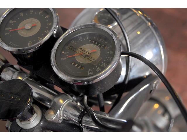 1967 Triumph T120R Frame no. T120RDU61100
