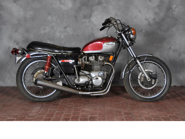1972 Triumph Trident Engine no. T150VNG04163