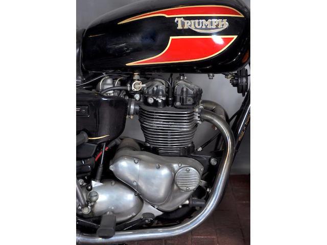 1983 Triumph TSS Frame no. SCGB7550 3CM032056