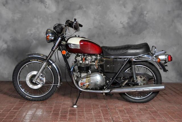 1979 Triumph Bonneville Frame no. T140E NA13463