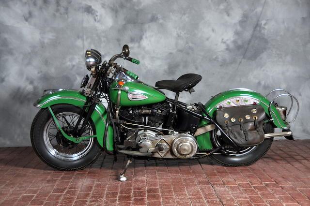 1940 Harley-Davidson  EL Engine no. 40EL3076