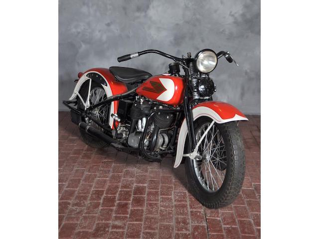 1935 Harley-Davidson VLD Frame no. 35VLD1317