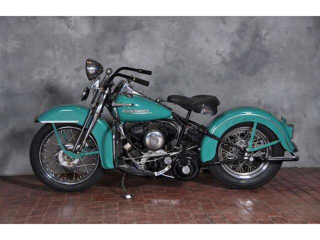 1942 Harley-Davidson Model G Frame no. 52G2553