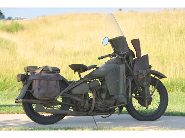 1942 Harley-Davidson WLA Frame no. 42WLA64560,1942 Harley-Davidson WLA Frame no. 42WLA64560
