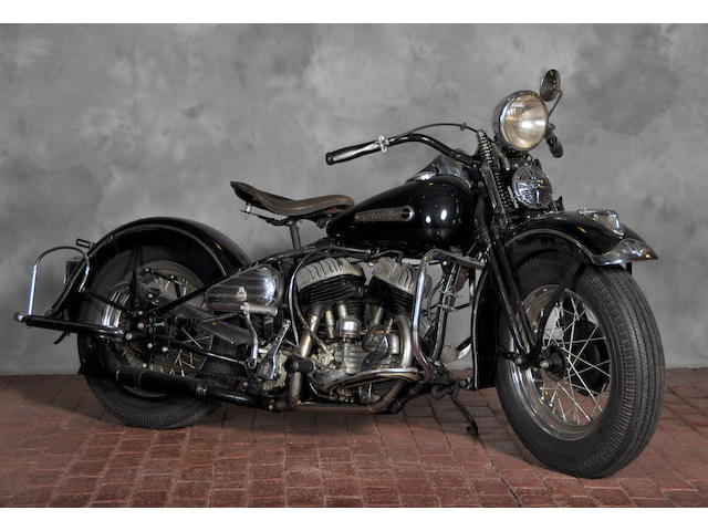 1942 Harley-Davidson WLA Frame no. 42WLA8959
