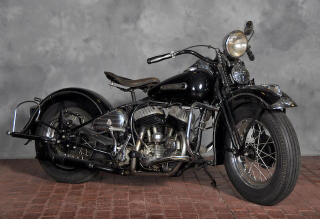 1942 Harley-Davidson WLA Engine no. 42WLA8959
