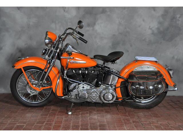 1947 Harley-Davidson FL Frame no. 47FL3631
