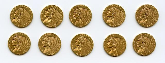 1910 $2.5 (10)