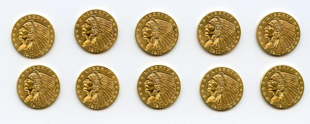 1911 $2.5 (10)
