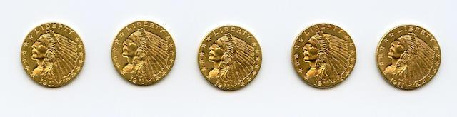 1911 $2.5 (5)