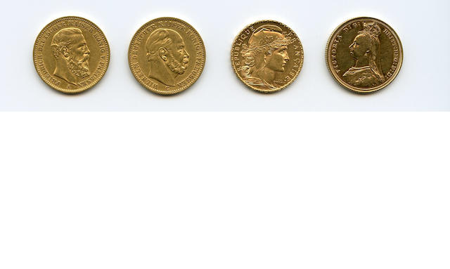 European Gold Coins (4)