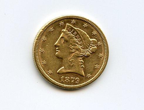 1879-S $5