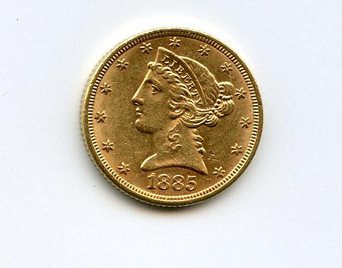 1885 $5