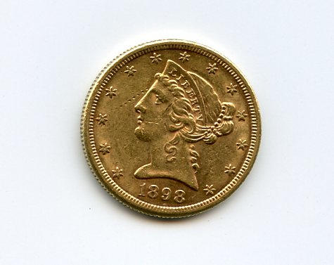 1898-S $5