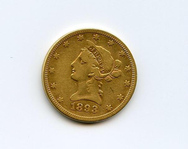 1893 $10