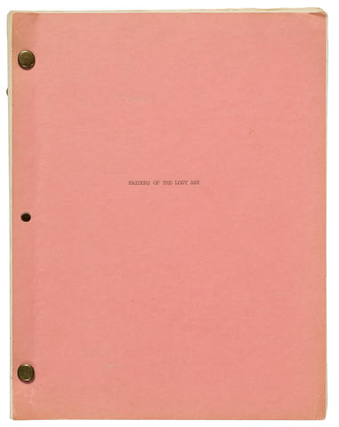 Revised fifth draft of the screenplay of Raiders of the Lost Ark
