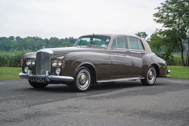 1963 Bentley S3 Continental Saloon  Chassis no. B 54 DF Engine no. 8S1613