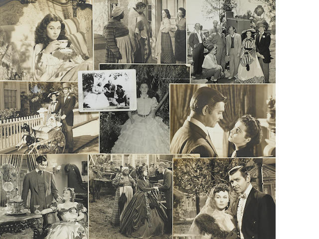 A group of stills from Gone With the Wind