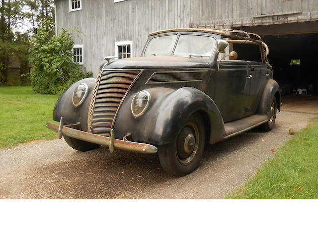 1937 Ford Model 78 Deluxe Phaeton  Chassis no. 3483357