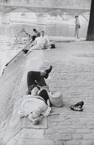 Henri Cartier-Bresson (1908-2004); Le Vert Galant, Paris;