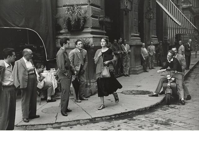 Ruth Orkin (1921-1985); American Girl in Florence, Italy;