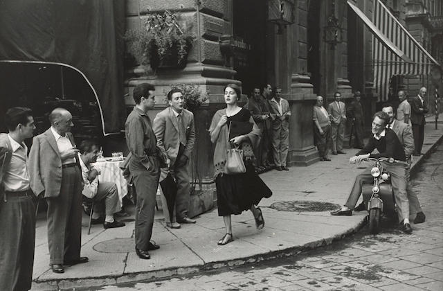 Ruth Orkin (1921-1985); American Girl in Florence, Italy;