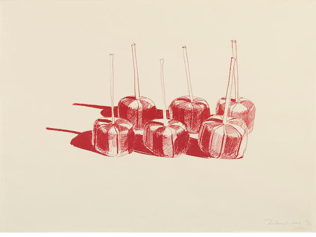 Wayne Thiebaud (born 1920); Suckers, State II;