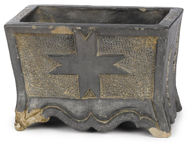 A rare koro (incense burner) for entry altar at a Namban temple Momoyama period (late 16th century)